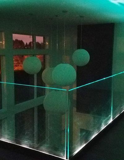 Garde-Corps à Sabot avec Lumière LED intégrée - Vimont