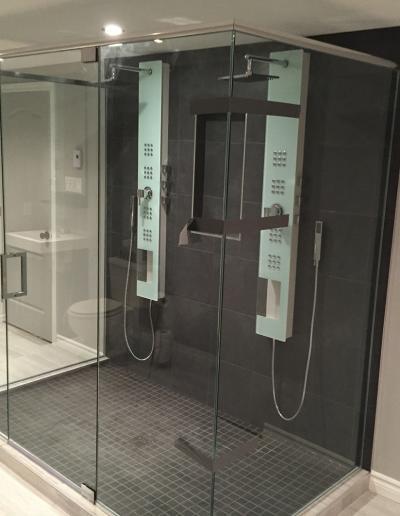 Douche à Linteau 3 côtés - Longueuil