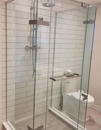 Douche à Linteau 3 côtés - Rosemère